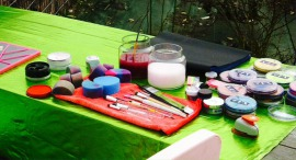 animation maquillage pour enfants - combs la ville - 77 - seine et marne - maquilleuse professionnelle anniversaire